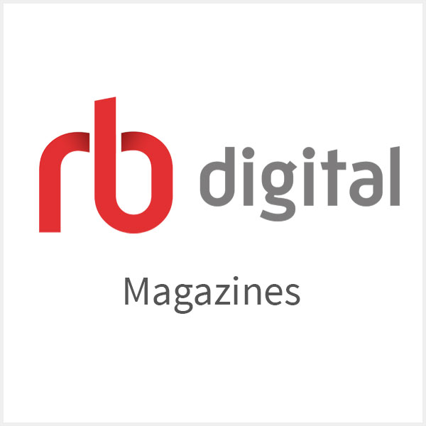 Digital magazines available with your RBdigital account.